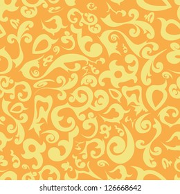 floral ornament for seamless background, wallpaper or fabrics