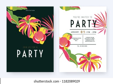 Party Invitation Images Stock Photos Vectors Shutterstock