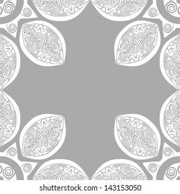 Floral pattern background vector illustration