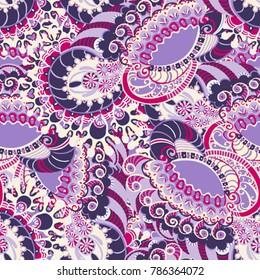 Floral pattern. Color background. For design of brochure, card, label, book, invintation, identity elements, website