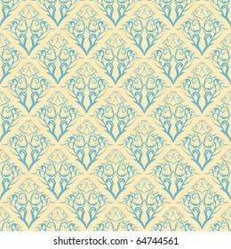 floral pattern vector illustration element for design. Seamless. EPS 8