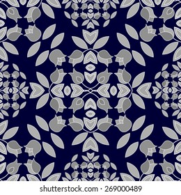 Floral repeating pattern.