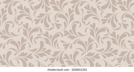 Floral seamless pattern. Delicate background for design fabric, paper, wrapping and wallpapers.