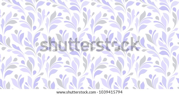 Floral seamless pattern. Delicate outline texture for background wrapping, textiles, paper, wallpaper.
