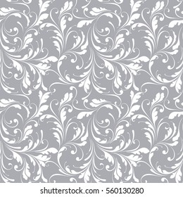 Floral seamless pattern. Lace background for fabric, Wallpaper, paper.