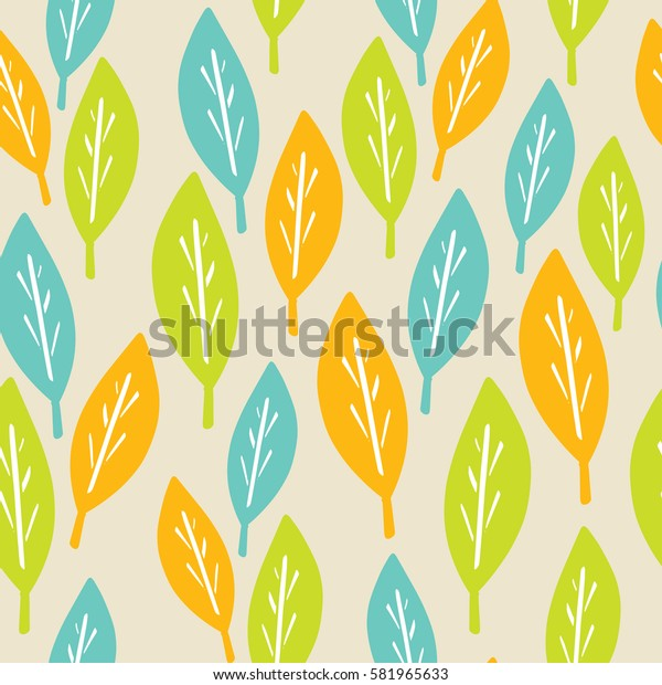 Floral seamless pattern. Simple background for fabric, Wallpaper, paper, clothing