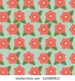 floral style with natual petals background
