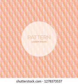 Floral stylish background pattern. Feminine texture