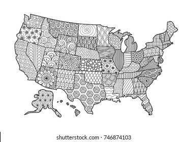 1000+ Map Coloring Page Stock Images, Photos & Vectors ... on list us map, colorado river us map, editable us map, blank us map, santa fe us map, grand canyon us map, painted desert us map, view us map,