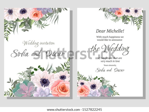 Categories Floral Invitation Template