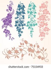 Floral Vine Collection