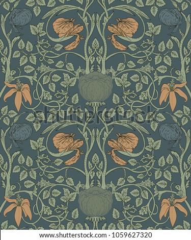floral vintage wallpaper design inspiration creative