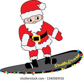 Floss Dance Flossing Santa Claus Christmas Floss like a boss