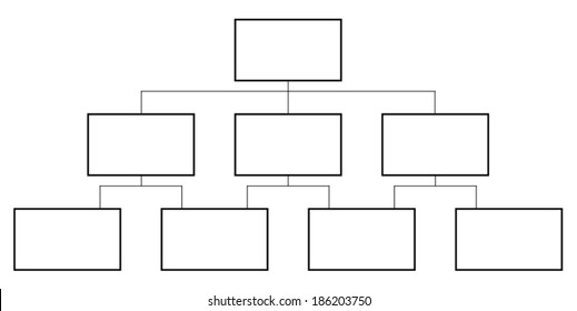 Flowchart vector isolated on white background