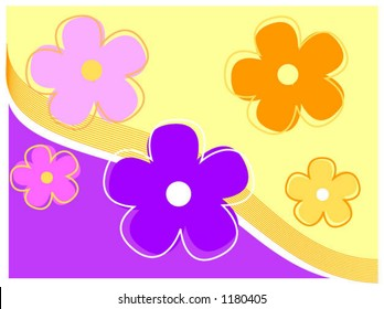 Flower Background - vector
