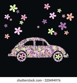flower beetle car