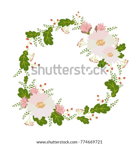 flower card invitation banner template wedding stock vector royalty
