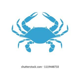 Flower Crab. Blue Swimmer Crab