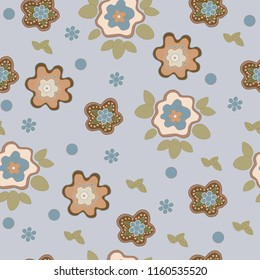 flower floral seamless background