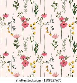 flower floral seamless pattern background, print pattern
