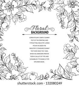 Flowers Frame Images Stock Photos Vectors Shutterstock