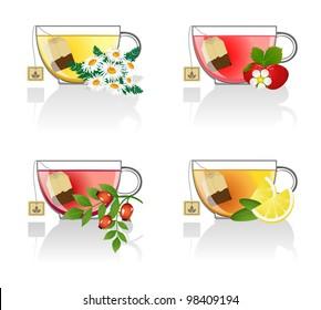 Flower and fruit tea