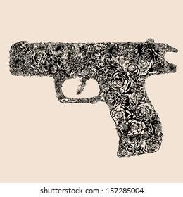 Flower gun.