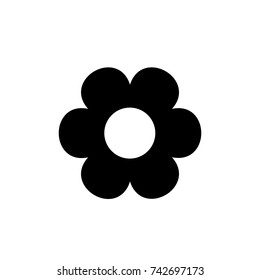 Flower icon., Flower icon vector, in trendy flat style isolated on white background. Flower icon image, Flower icon illustration