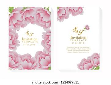 Flower Invitation Design