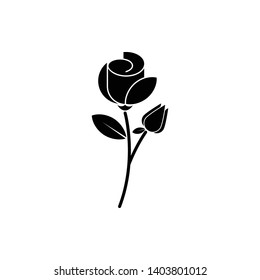 Flower Leaf Icon Vector Illustration - Vector