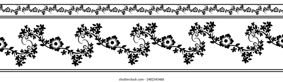 Free Black And White Flower Art, Download Free Clip Art, Free Clip Art on  Clipart Library