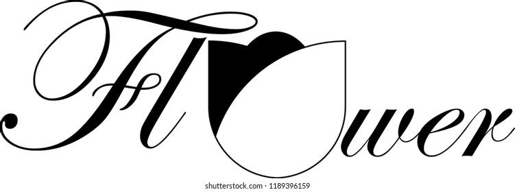 Flower Logo minimalis