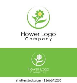 flower logo template
