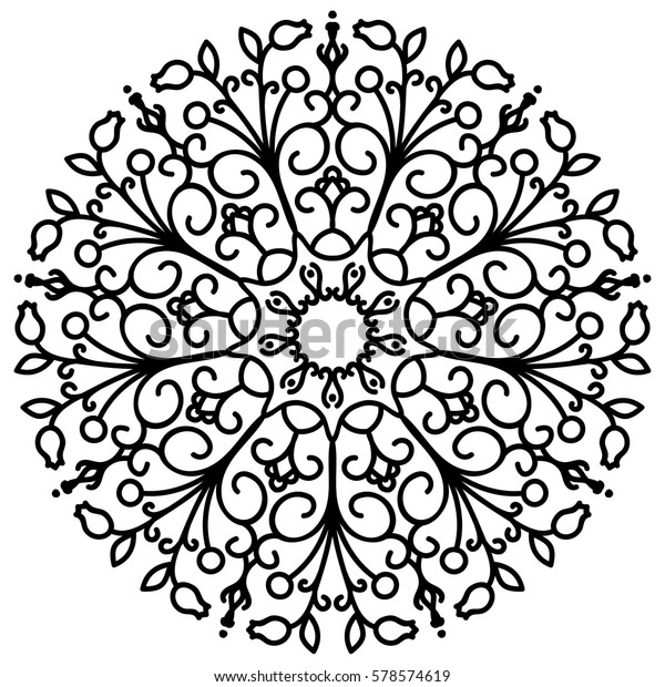 flower mandalas vintage decorative elements 600w