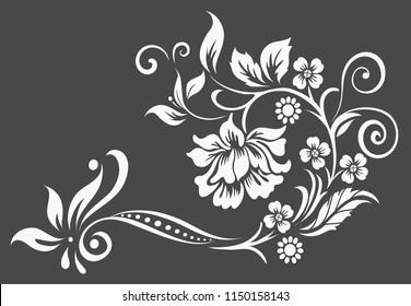 Flower design sketch gallery's Portfolio on Shutterstock