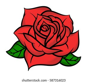 Red Rose Tattoo Images Stock Photos Vectors Shutterstock