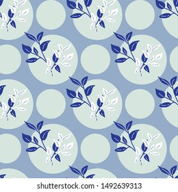 Flower seamless pattern illustration in pastel background. Can use for print, template, fabric, presentation, textile, banner, poster, wallpaper