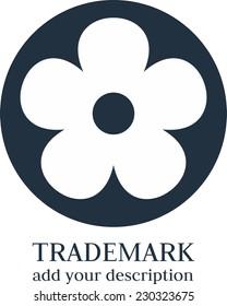 Flower simple logo