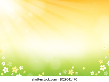 Flower theme abstract background 3 - eps10 vector illustration.
