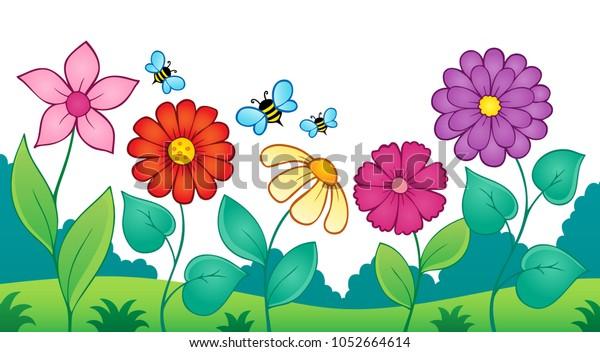Flower topic image 9 - eps10 vector illustration.