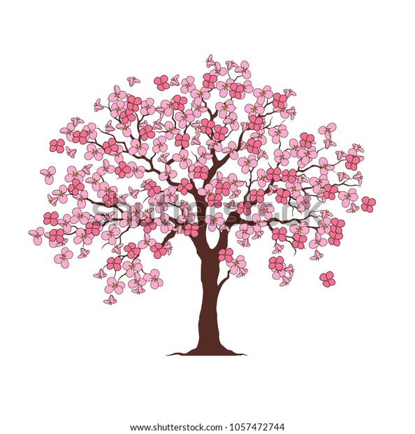 picture regarding Free Printable Tree titled Flower Tree Printable Family members Tree Inventory Vector (Royalty Absolutely free