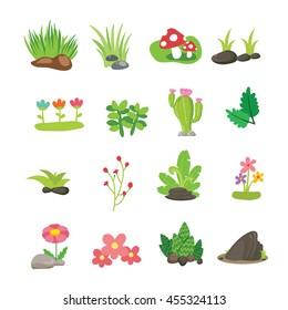flower vector cartoon