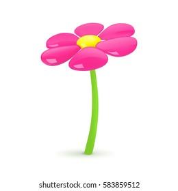 Flower. Vector illustration.