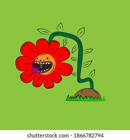 flowerlaughing-out-loud-streetwear-tshir