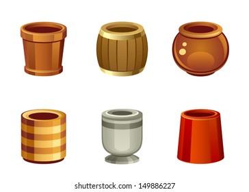 Flowerpot set