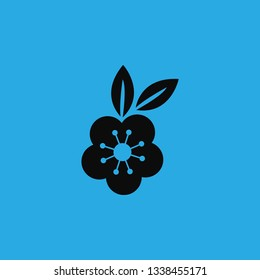 flowers 8march icon vector