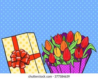Flowers Pop Art Images Stock Photos Vectors Shutterstock