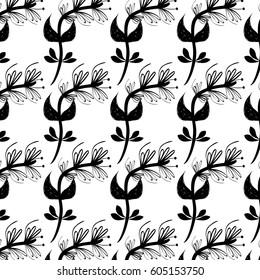 flowers branches background decoration design