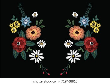 flowers embroidery 2