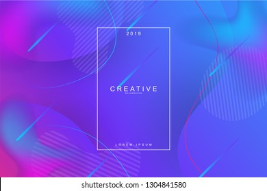 Fluid landing page background. Fluid, liquid, wavy, gradient, flowing, dynamic shape background. Trendy and modern background color. Cool banner design template.